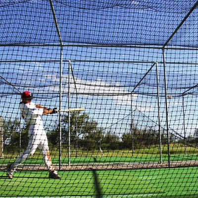 4. Heavy Duty Baseball Batting Cages from Net World Sports