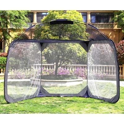8. Baseball Batting Cage Heavy Duty Netting for Pitchers from Galileo