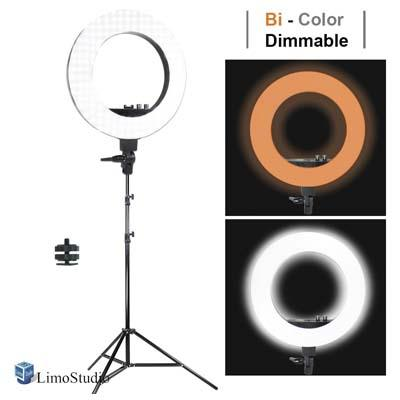 LimoStudio 18-inch Diameter White Diffuser Cover for Ring Light, AGG2327