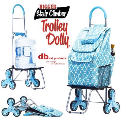 10. dbest products Stair Climber Bigger Trolley Dolly